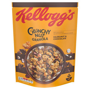 Kelloggs Crunchy Nut Oat Granola Chocolate And Nut