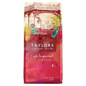 Taylors Cafe Imperial Ground Coffee