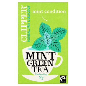 Clipper Green with Mint 25 Teabags