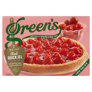 Greens Red Quick Jel Twin Pack
