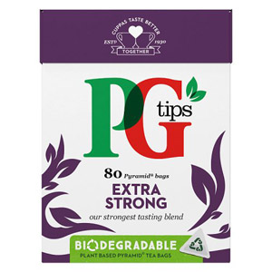 PG Tips Extra Strong 80 Teabags