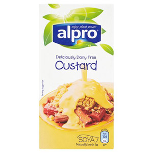 Alpro Dairy Free Low Fat Soya Custard