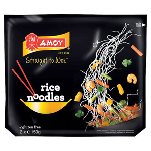 Amoy Straight To Wok Fine Rice Noodles