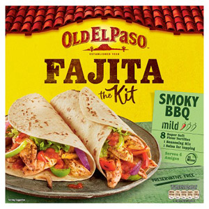 Old El Paso Smoked Barbeque Fajita Dinner Kit