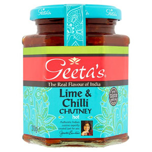 Geetas Lime and Chilli Chutney