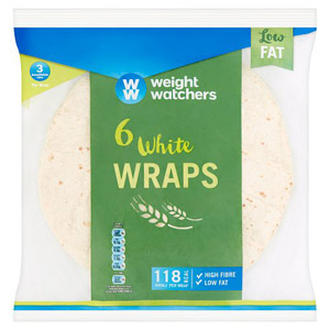 Weight Watchers Wraps 6 Pack