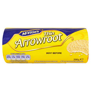 Crawfords Thin Arrowroot Biscuits