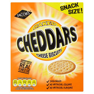 Jacobs Cheddars Carton