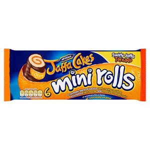 McVities Jaffa Cake Mini Rolls 6 Pack