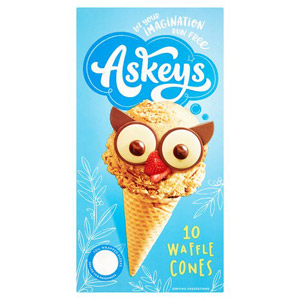 Askeys Waffle Cones 10 Pack