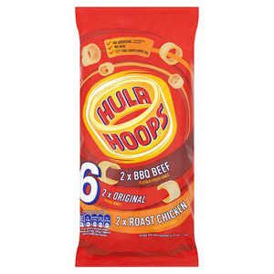 Kp Hula Hoops Meaty 6 Pack