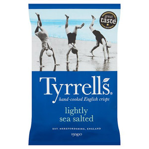 Tyrrells Crisps Lightly Sea Salted