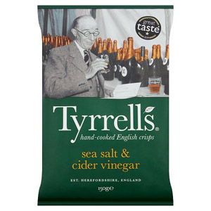 Tyrrells Crisps Sea Salt & Cider Vinegar