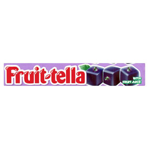 Fruit Tella Blackcurrant Flavour Chewy Sweets
