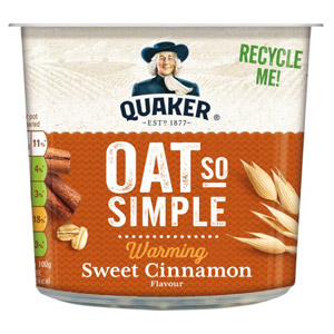 Quaker Express Pot Sweet Cinnamon