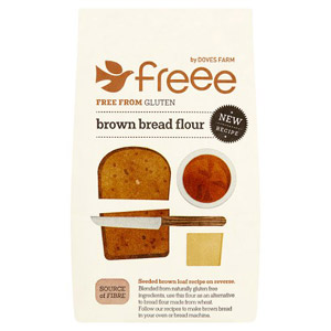 Doves Farm Foods Gluten Free Brown Bread Flour 1000g