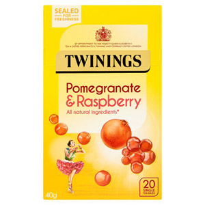 Twinings Pomegranate & Raspberry Caffeine Free Tea 20