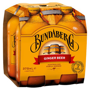 Bundaberg Ginger Beer 4 x 375ml