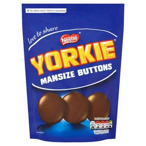 Nestle Yorkie Man Size Buttons