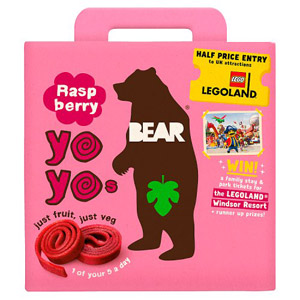 Bear Yo Yo's Raspberry 5 Pack
