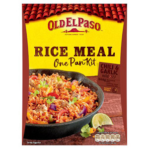 Old El Paso Chilli and Garlic Rice Kit