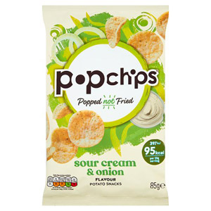 Popchips Sour Cream And Onion Chips