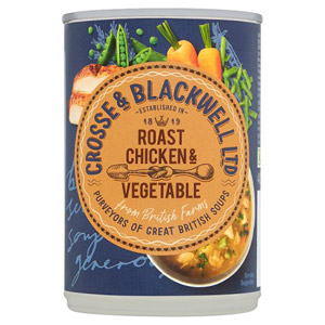 Crosse And Blackwell British Roast Chicken And Vegetable Soup