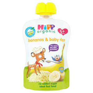 Hipp 4 Months Organic Bananas With Baby Rice