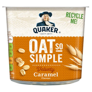 Quaker Oat So Simple Pot Caramel