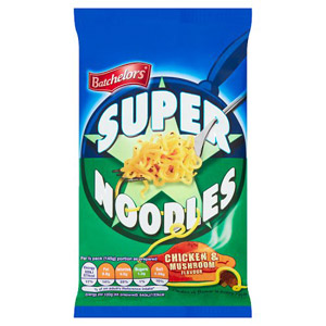 Batchelors Super Noodles Chicken & Mushroom