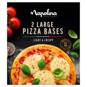 Napolina Pizza Bases Twin Pack