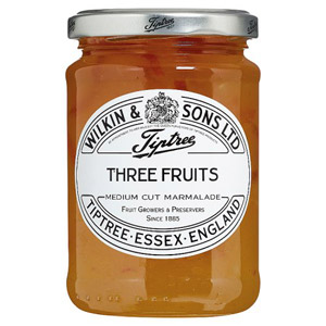 Tiptree Three Fruits Marmalade Medium Cut