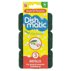 Dishmatic General Purpose Refill 3 Pack
