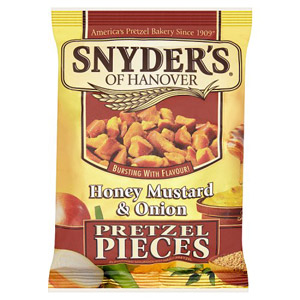 Snyders Honey Mustard & Onion Pretzel Pieces