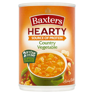 Baxters Hearty Country Vegetable Soup