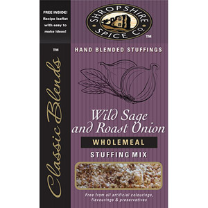 Shropshire Spice Wild Sage & Roast Onion Wholemeal Stuffing Mix