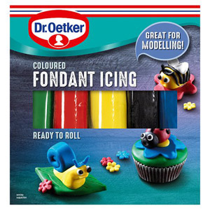 Dr. Oetker Coloured Icing 5 Pack