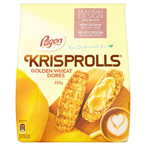 Pagens Golden Krisprolls