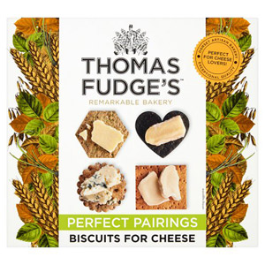 Fudges Many Shaped Miscellany of Biscuits for Cheese