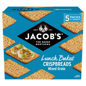 Jacobs Mixed Grain Crisp Bread