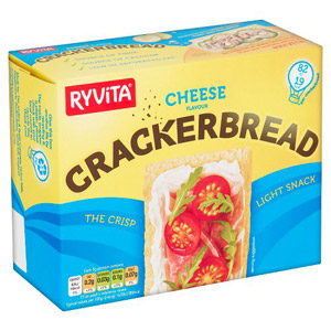Ryvita Cheese Crackerbread