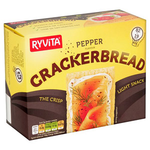 Ryvita Pepper Crackerbread