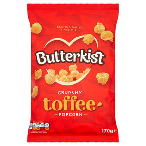 Butterkist Toffee Popcorn Large