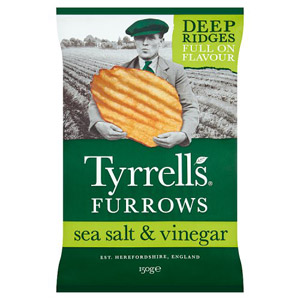 Tyrrells Salt & Vinegar Furrows