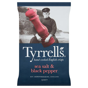 Tyrrells Crisps Sea Salt & Pepper