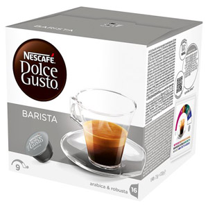 Nescafe Dolce Gusto Espresso Barista Coffee Pods 16 Servings