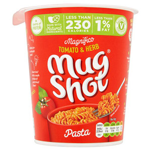 Mug Shot On The Go Tomato & Herb Pasta