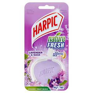 Harpic Super Active Block Lavender