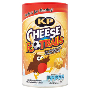 KP Cheesy Footballs Caddy