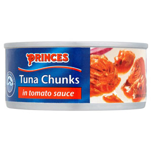 Princes Tuna Chunks in Tomato Sauce